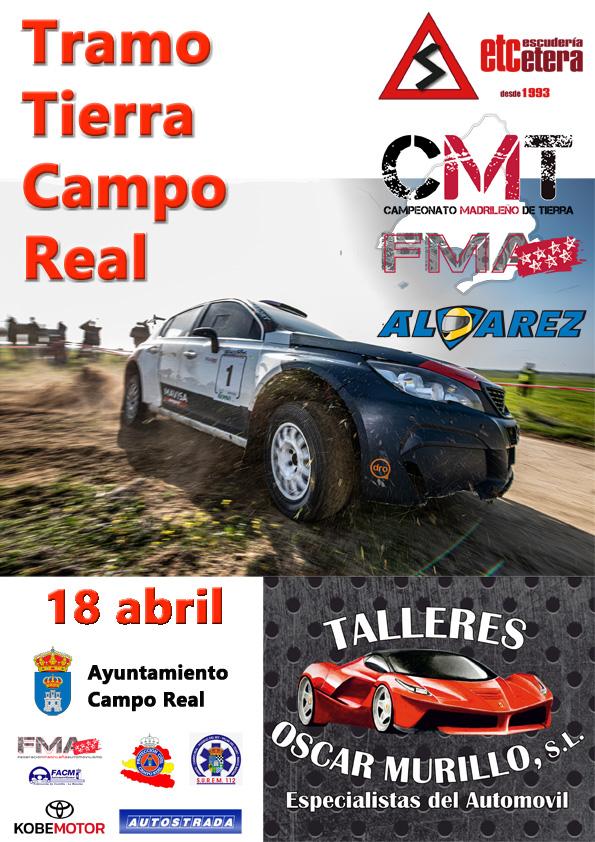 Cartel Campo Real